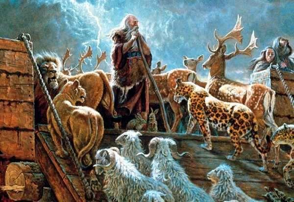 ¿Cuántos animales de cada sexo llevó Moisés en el Arca?