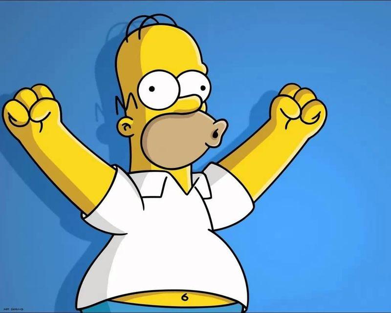¿Te parece gracioso Homero?