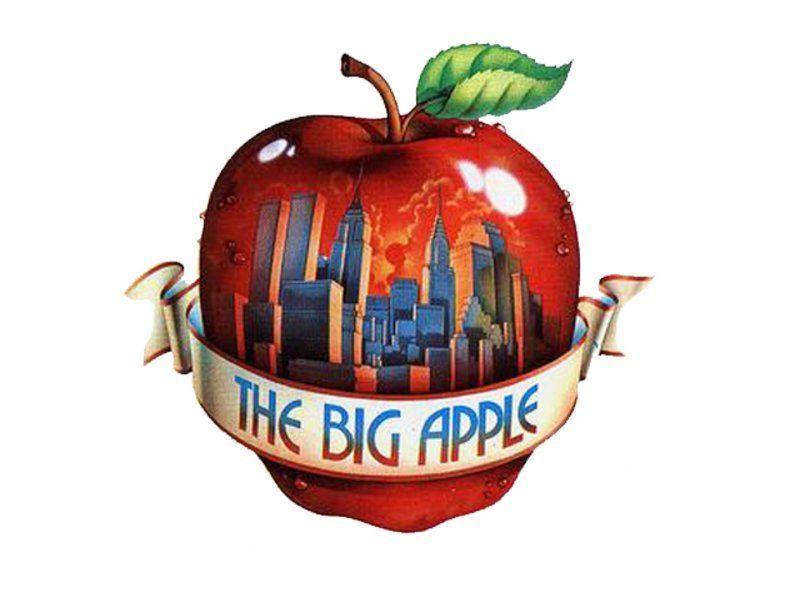 Te encuentras una manzana  por la calle, la manzana es...