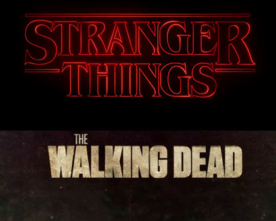 Stranger things vs The walking dead