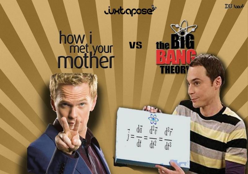 How I met your mother vs The big bang theory