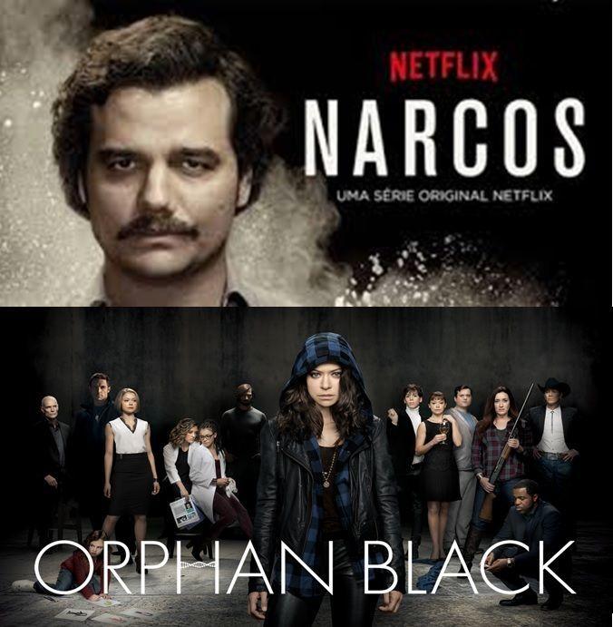 Narcos vs Orphan Black
