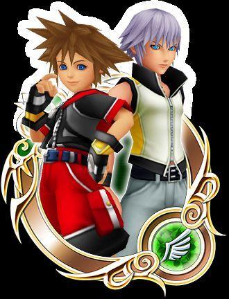 Sora VS Riku