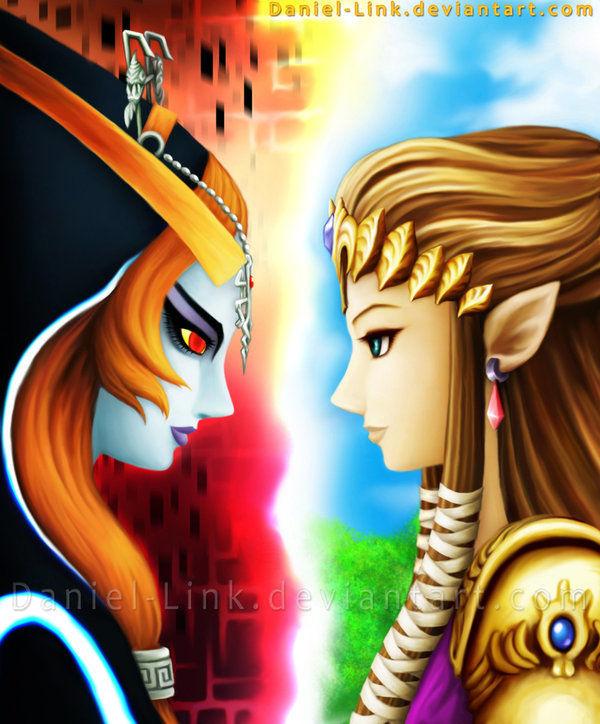 Zelda VS Midna