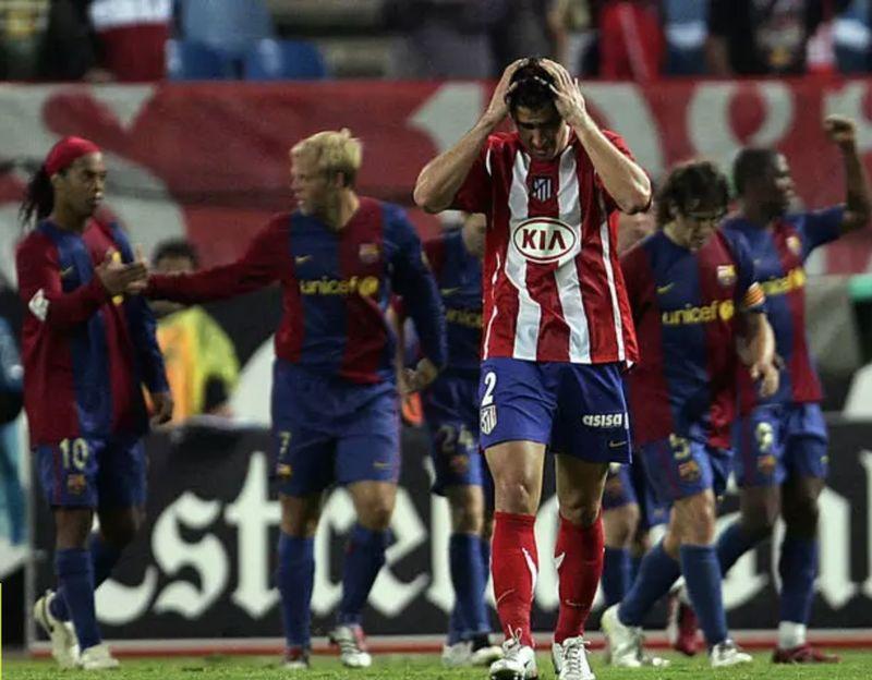 El Atlético encajó ante el Barça la mayor goleada como local en toda su historia (0-6). ¿Quién era el portero?