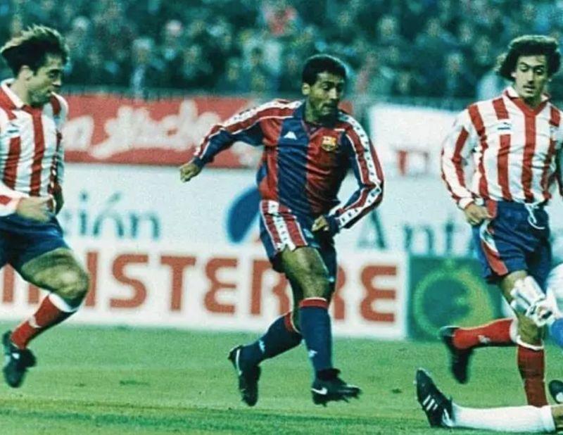 En octubre'93, Romario anotó un hat-trick y puso en 0-3 el marcador, pero el Atlético remontó. ¿Quién marcó el gol definitivo?