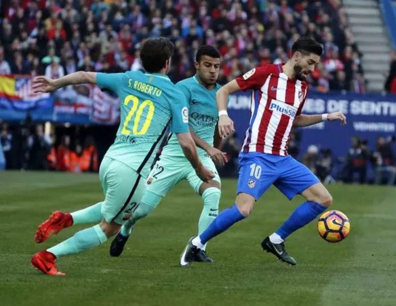 ¿Qué jugador marcó el último gol del Atlético ante el Barça en el Vicente Calderón?