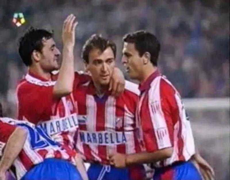 En el año del 'Doblete', el Atlético ganó 1-3 en el Camp Nou y Caminero firmó un regate mágico y memorable. ¿A qué jugador?