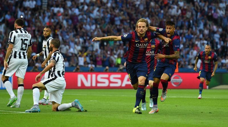 2015: Juventus 1 Barcelona 3: ¿En qué minuto marcó Rakitic el primer gol?