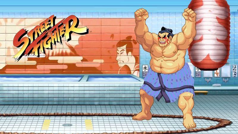 Toca Street Fighter ¿cómo se llama?