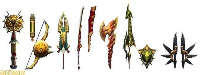 ¿Que dos armas te regalan al comienzo del juego?