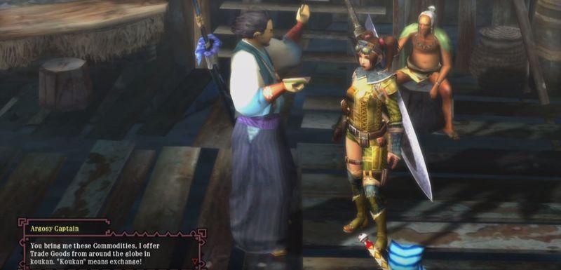 ¿Qué katana te regala el capitán Argosi?