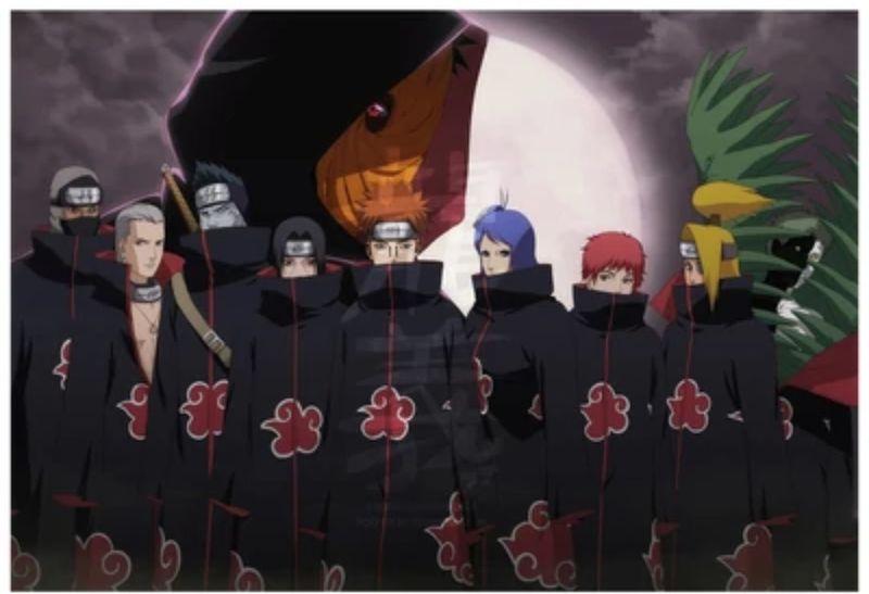 30260 - TEST: ¿Qué miembro de Akatsuki eres?