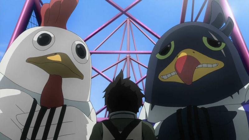 Una para los que se leen los extras del final de los tomos, ¿Cómo se llaman las aves de la prisión?
