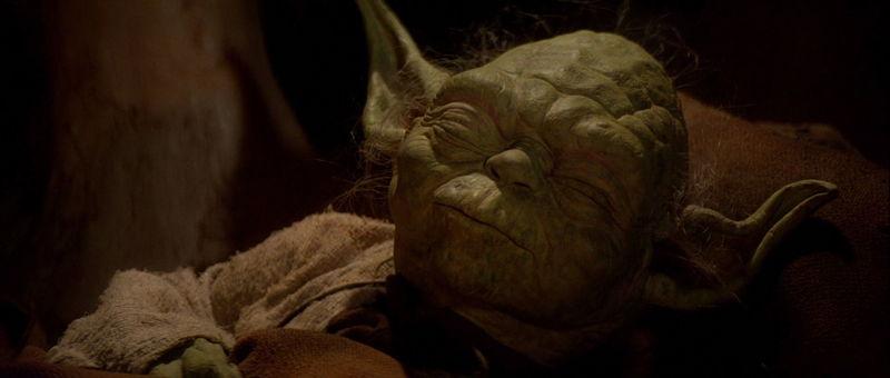 ¿Qué me dices de la muerte de Yoda?