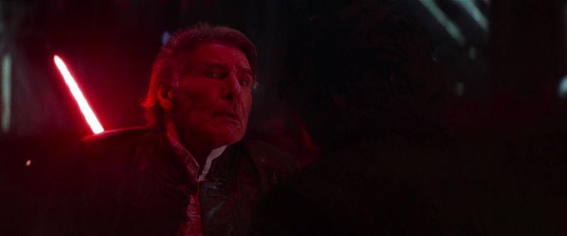 Y por último, La muerte de Han Solo