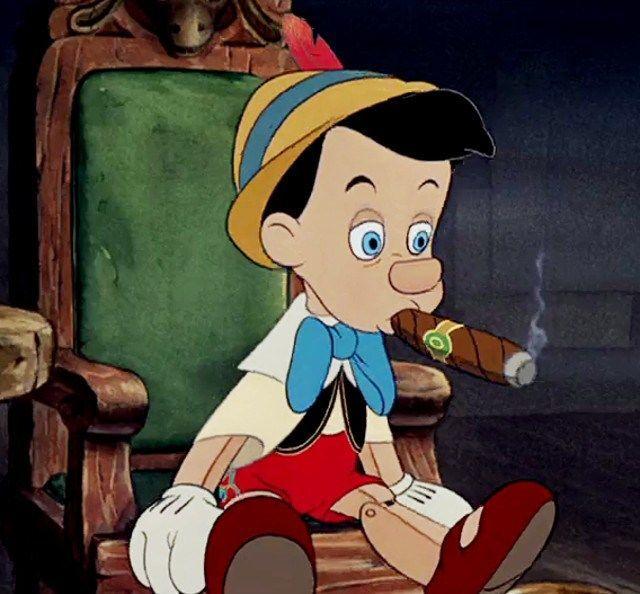 ¿Cómo acaba Pinocho al final de su obra?