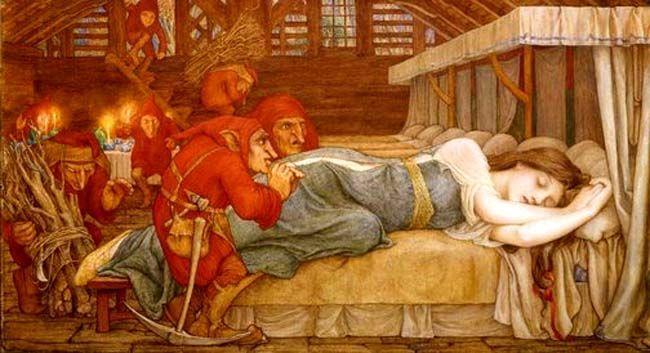En la historia de Blancanieves, ¿con qué intenta matar la reina malvada a Blancanieves?