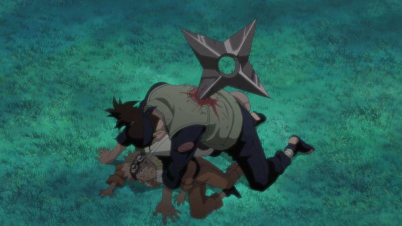 ¿Lloraste con el discurso de Iruka a Naruto en el primer episodio?
