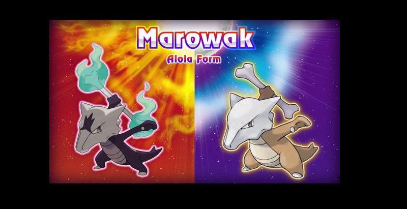 ¿Marowak Normal o Marowak Alola?