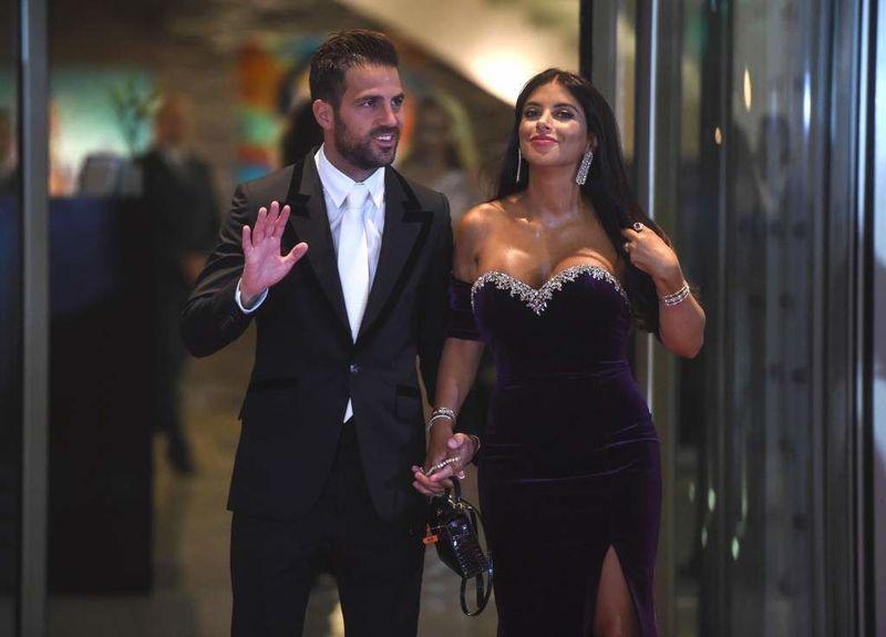 Cesc Fàbregas y Daniella Seeman