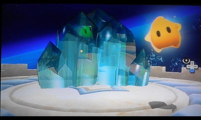 Esta piedra extraña es cristal. La única forma de romper el cristal es haciendo un giro, pero... ¿Cómo se hace el giro? [★☆☆☆☆]