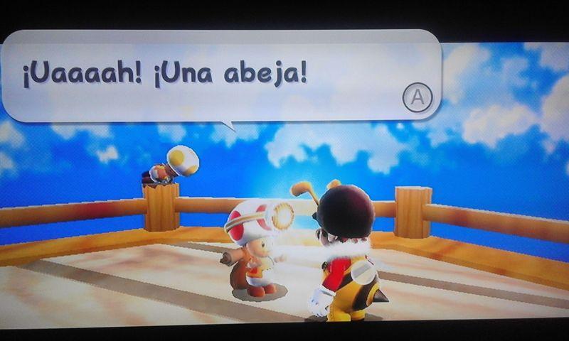 Este ser que habla es el jefe de la Cuadrilla Toad, un grupo de Toads que ayudan a Mario. ¿Cómo se llama su nave? [★★☆☆☆]