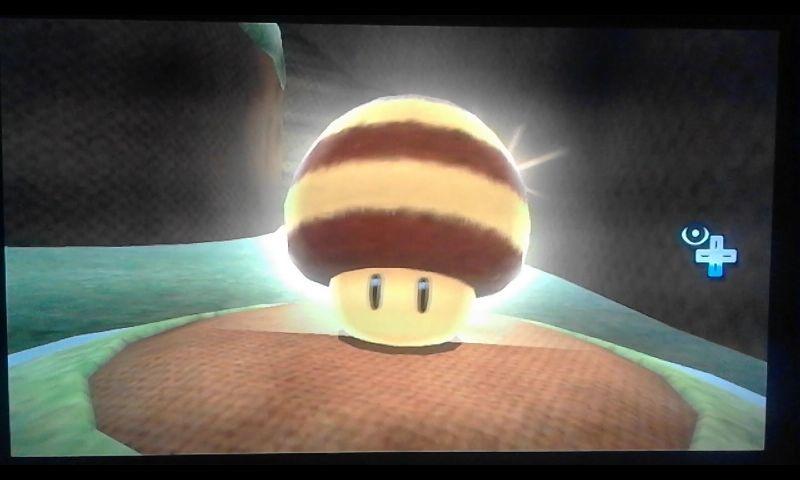 Este champiñón convierte a Mario en Mario Abeja. Aparte de haciéndose daño, ¿cómo puede volver Mario a la normalidad? [★★☆☆☆]
