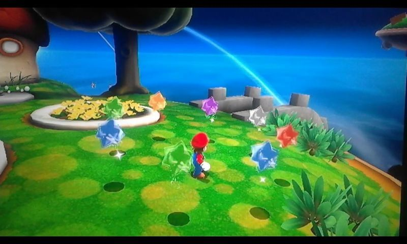Mario está rodeado por trozos de estrella. A la mayoría de seres no les gusta que se los lancen, ¿pero a quién sí? [★☆☆☆☆]