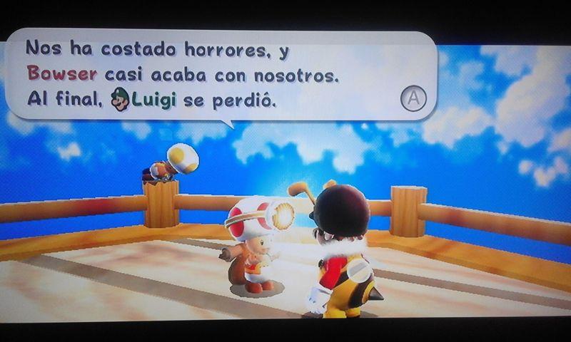 A Luigi solo se le menciona una vez, y pasan del tema hasta bien entrada la mitad del juego. ¿En qué galaxia se perdió? [★★★☆☆]