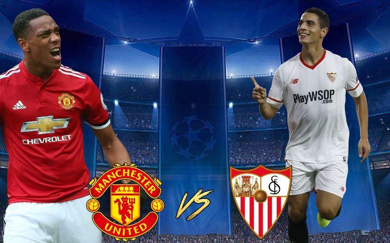 Equipo español VS Equipo Inglés... Sevilla VS Manchester United