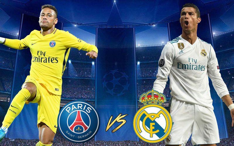Me atrevería a decir que es el duelo más llamativo, duelo de estrellas, Neymar vs Cristiano, ¡PSG VS Real Madrid!