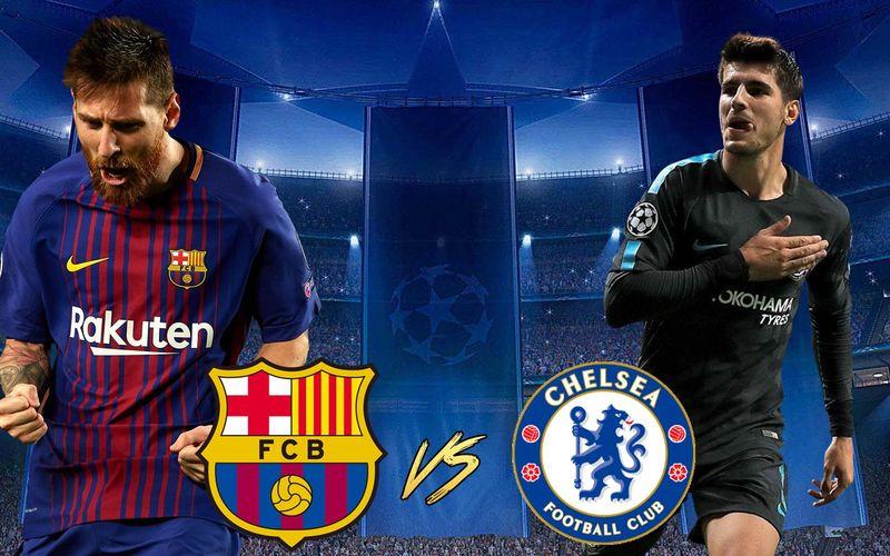Otro partido interesantísimo y otro duelo de Estrellas, ¡Desde Londres, Chelsea, y desde Cataluña, Barcelona!
