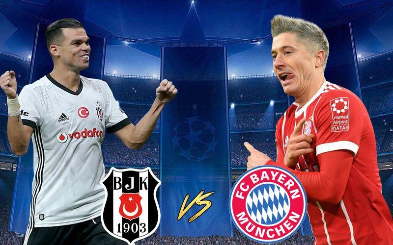 Besiktas viene de dejar fuera al Leipzig y al Mónaco, Bayern viene de una pelea muy reñida contra el PSG, ¿Quién de ellos pasa?