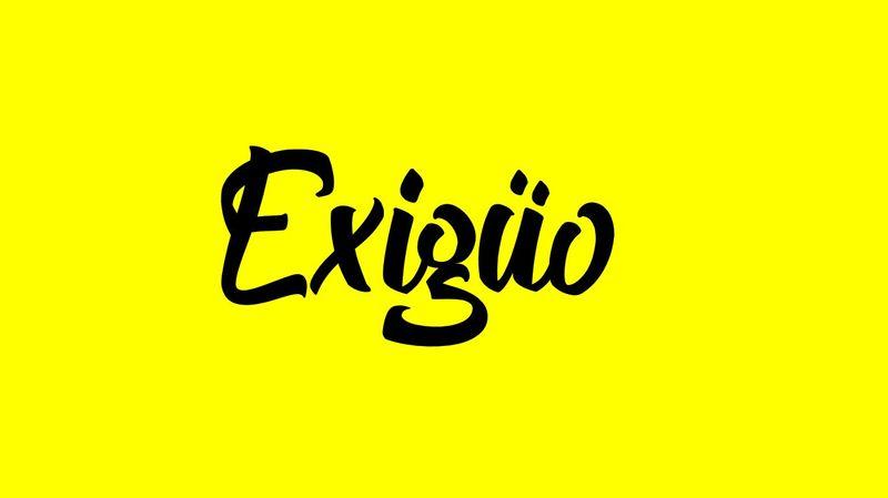Exigüo