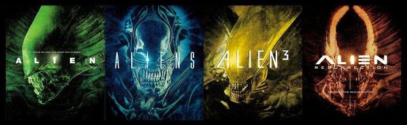 ¿Y la saga Alien?