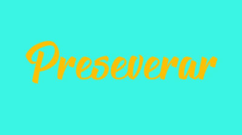 Preseverar