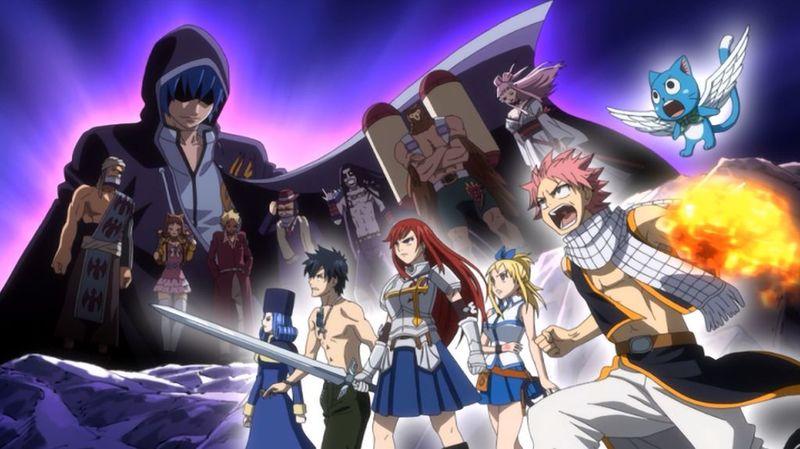 ¿Cuántos opening tiene el anime incluyendo Fairy tail zero?