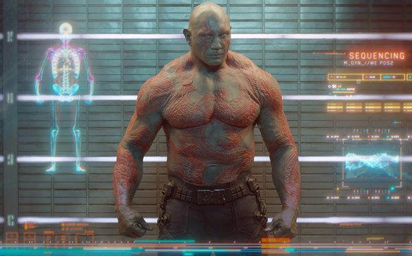 ¿Qué Actor rechazó ser ' Drax' en Guardianes de la Galaxia?