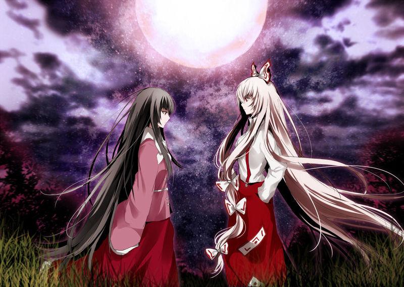 Mokou y Kaguya siempre están intentando matarse mutuamente. A qué se debe este conflicto?