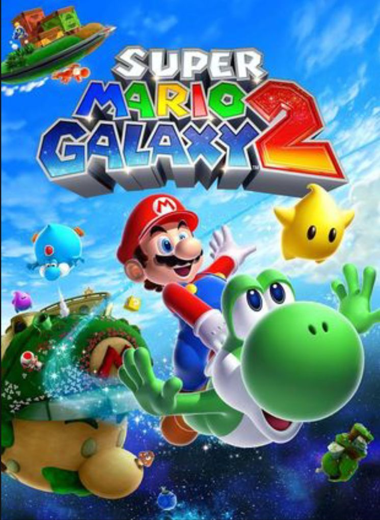 30899 - ¿Reconoces estas galaxias de Super Mario Galaxy 2?