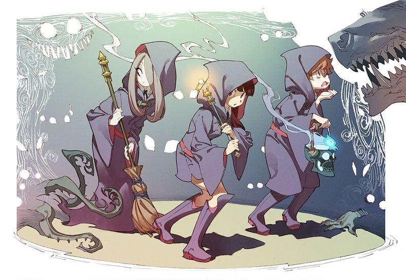 30906 - ¿Cuanto sabes de Little Witch Academia?