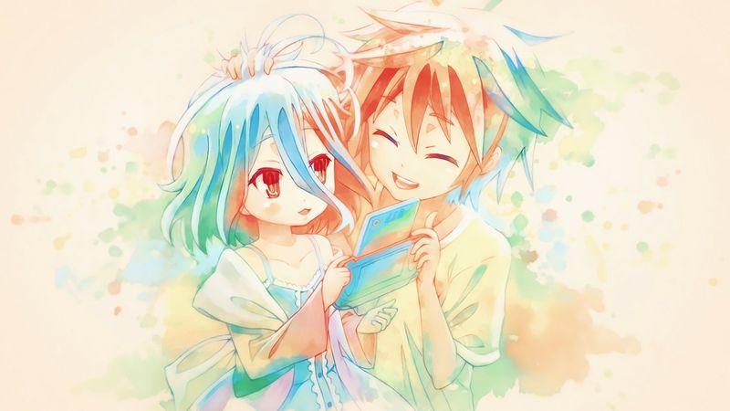 ¿Cuál es el apellido de Sora y Shiro?