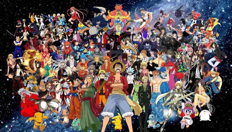 30949 - ¿Cuántos personajes de anime puedes reconocer?