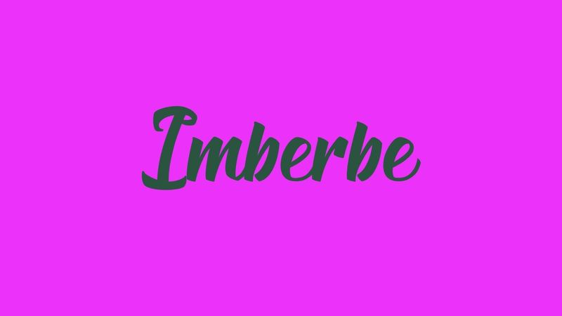 Imberbe