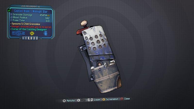 ¿Cuál es la granada más poderosa de todo Pandora?