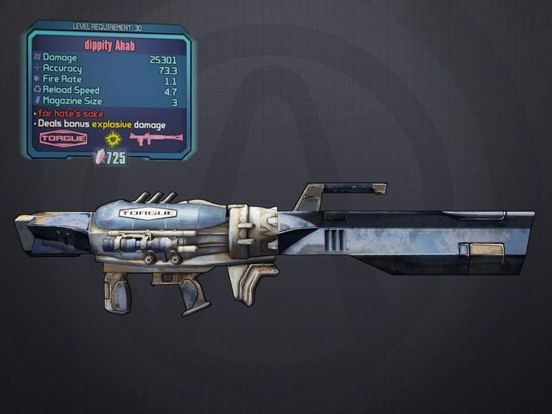 ¿Qué arma de torgue puede hacer daño adicional con el ahab (lanzacohetes de torgue)?