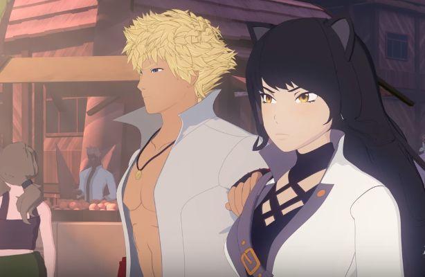¿Qué están haciendo Sun y Blake en el segundo corto?
