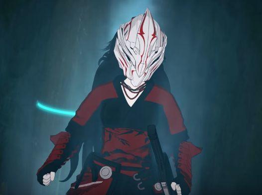 ¿Para qué usa Raven su máscara?