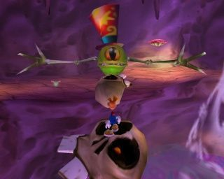 ¿A qué se debe el color azul de la ropa de Rayman en el juego? [★★☆☆☆]